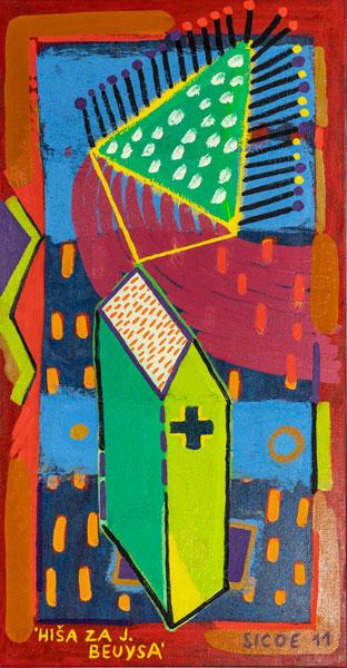 Sicoe - Hiša za J. Beuysa